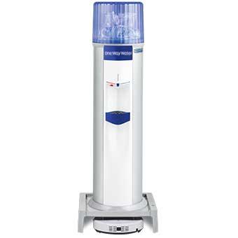 お掃除ロボット一体型ウォーターサーバー Acro(床置) / ブルー