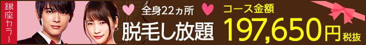 脱毛し放題197,650円