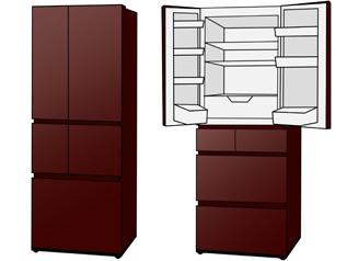デザイン性の高さと省エネにつながるフレンチドアが主流に
