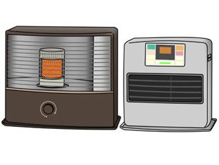 速暖性が人気の灯油・ガスヒーター。省エネ性能も向上