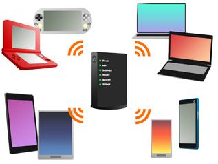複数機器の接続に対応、同時に使っても高速通信が可能に