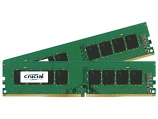 デスクトップ向けメモリー、同一製品を2枚1組で使うとメモリーの動作が高速化