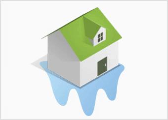 火災保険の水災について