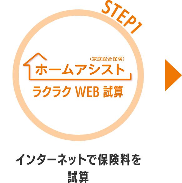 STEP1インターネットで保険料を試算