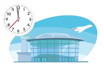 海外旅行保険の航空機遅延費用とは?