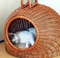 ドーム型 猫用ベッド