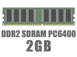 DIMM DDR2 SDRAM PC6400 2GB OEM