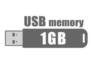 USBフラッシュメモリ 1GB (型番:MP-T1GB)