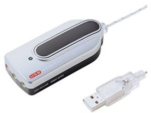 サンワサプライ USBオーディオ変換アダプタ(シルバー) MM-ADUS・・・