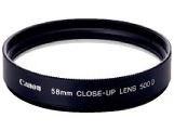 クローズアップレンズ 500D 58mm C-UP58500D
