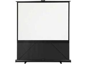 キクチ 床置き立ち上げモバイルスクリーン 80インチ(16:9)サイズ GRANDVIEW G・・・