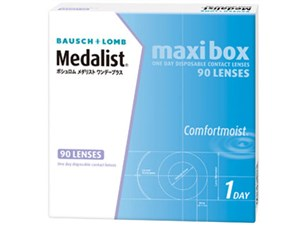 [処方箋不要]メダリストワンデープラス maxi box [90枚入り・・・