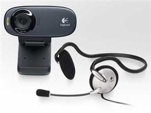 Logicool C310H グレー&ブラック [WEBカメラ(120万画素/USB接続/ヘッドセット・・・