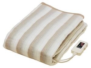 ナカギシ 寒い冬に優しく快適に身体を温めます!電気掛敷毛布 【暖房通販】 (T・・・