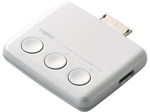ロジテック カーオーディオ関連 Walkman用FMトランスミッター LAT-FMWS07W・・・
