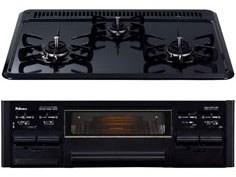 パロマ PD-N33-L-LP ニュートラルグレー [ビルトインガスコンロ(プロパン用・・・・