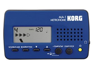 KORG(コルグ) コンパクト・メトロノーム MA-1 MA-1-BLBK ブルー&ブラッ・・・