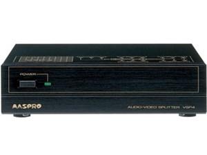 マスプロ電工【AV信号を4分配】RCAピンジャックAV分配器 VSP4【VSP-4・・・