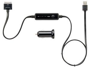 ロジテック FMトランスミッター/iPod専用/オートスキャン/MFI/ブラック LAT-F・・・