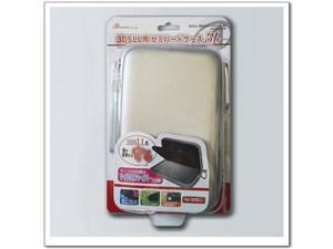 アンサー 3DS LL用 「セミハードケース 3L」 (シルバー) ANS-3D026SV シルバ・・・