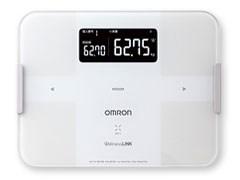 OMRON HBF-252F-W ホワイト カラダスキャン [体組成計 体組成計・体脂肪計付・・・