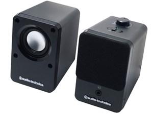 オーディオテクニカ Audio-Technica アクティブスピーカー BK AT-SP102-B・・・