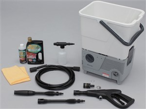 アイリスオーヤマ タンク式高圧洗浄機コーティングセット SBT-412C ホワイト/・・・
