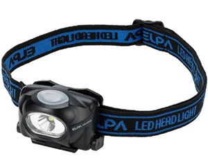 ELPA LEDヘッドライト 50ルーメン DOP-HD053
