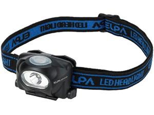 ELPA LEDヘッドライト 65ルーメン DOP-HD103