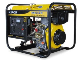 KIPOR ディーゼルエンジン発電機 KDE2.0E-60Hz