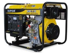 KIPOR ディーゼルエンジン発電機 KDE3.3E-60Hz
