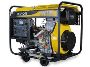 KIPOR ディーゼルエンジン発電機 KDE5.0E-60Hz