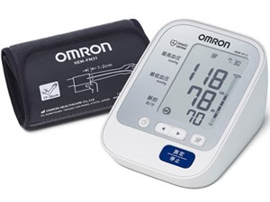 OMRON HEM-8713 [上腕式血圧計 (フィットカフ/血圧値レベル表示付き)・・・