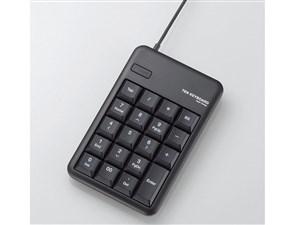 ELECOM TK-TCM012BK/RS ブラック [テンキーパッド (メンブレン/USB 2.0 HUB付・・・