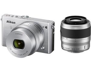 Nikon 1 J4 ダブルズームキット [シルバー]