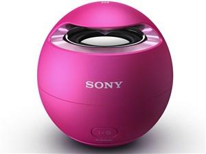 SONY ワイヤレスポータブルスピーカー Bluetooth対応 防水仕様 ピンク SRS-X1・・・