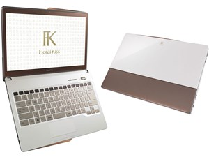 FMV LIFEBOOK Floral Kiss CH75/R FMVC75RW [Clear White with Brown]