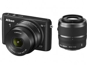 Nikon 1 S2 ダブルズームキット [ブラック]
