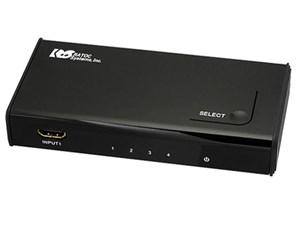 ラトックシステム 高速切替4入力1出力HDMIセレクター REX-HDSW4・・・