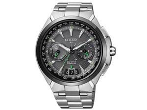 アテッサ エコ・ドライブ電波時計 サテライト ウエーブ CC1086-50・・・