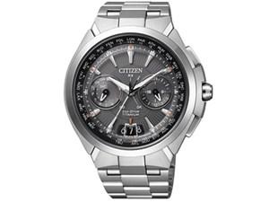 アテッサ エコ・ドライブ電波時計 サテライト ウエーブ CC1080-56・・・