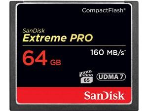 サンディスク エクストリーム プロ コンパクトフラッシュ 64GB SDCFXPS-064G-・・・
