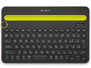 Multi-Device Keyboard K480 K480BK [ブラック]
