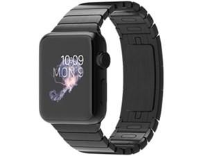 Apple Watch 38mm MJ3F2J/A [スペースブラック ステンレススチールリンクブレ・・・