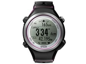 エプソン WristableGPS SF-810V(脈拍計測/GPS機能/ブラック+パープルモデル) ・・・