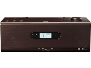 ビクター Bluetooth/NFC機能搭載CDポータブルシステム (RDW1T)(ブラウン) RD-・・・