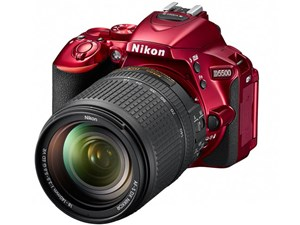 D5500 18-140 VR レンズキット [レッド] ニコン