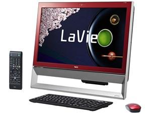 LaVie Desk All-in-one DA370/AAR PC-DA370AAR [クランベリーレッド・・・