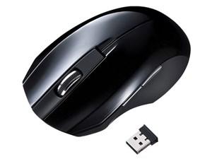 SANWA SUPPLY MA-WBL33BK ブラック [静音ワイヤレスブルーLEDマウス・・・