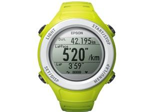 エプソン WristableGPS SF-110G(GPS機能/活動量計機能/グリーンモデル) SF-11・・・